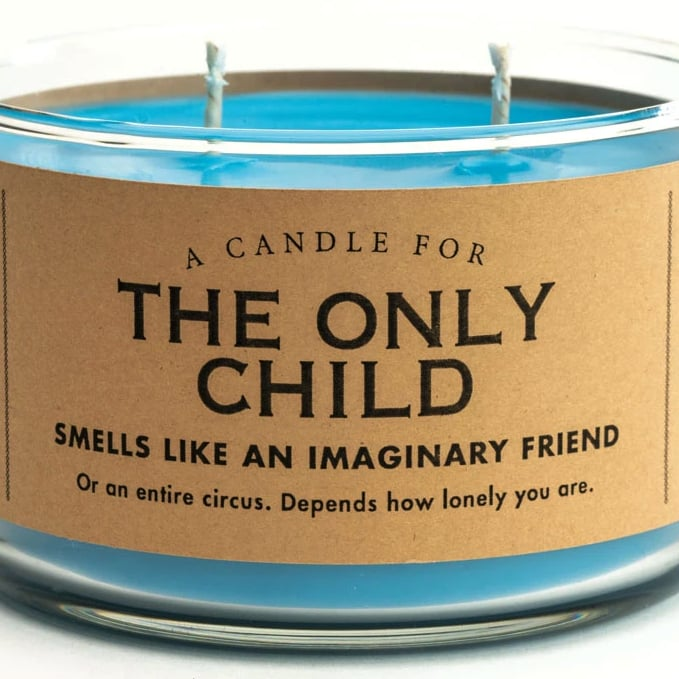 """This Only Child Candle Smells Like """"an Imaginary Friend"""""""