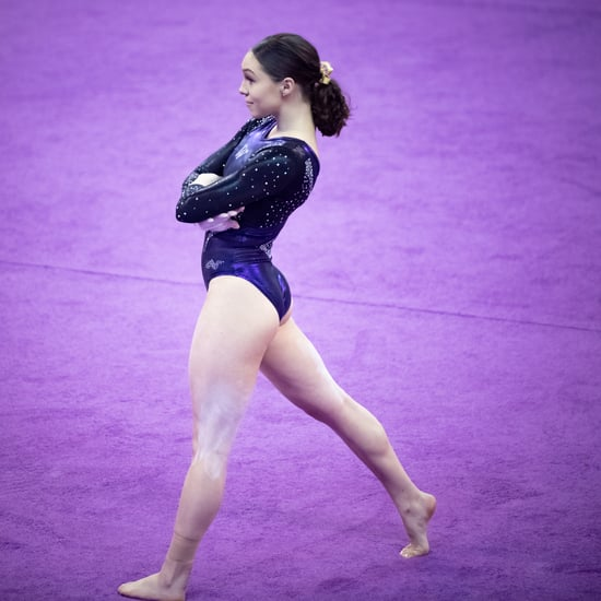 Geneva Thompson's Floor Routine For University of Washington