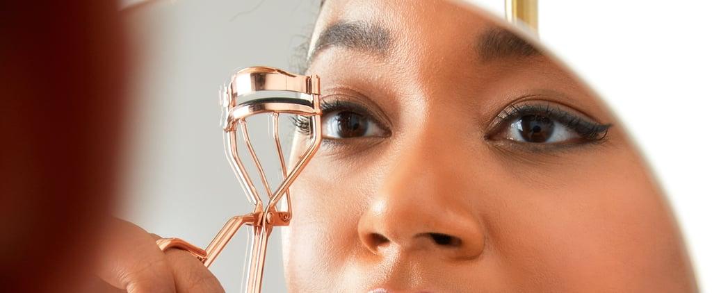 How to Curl False Eyelashes
