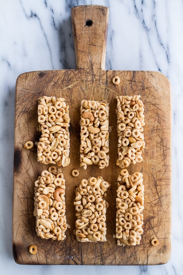 Homemade Cheerio Cereal Bars - Homemade Ftempo