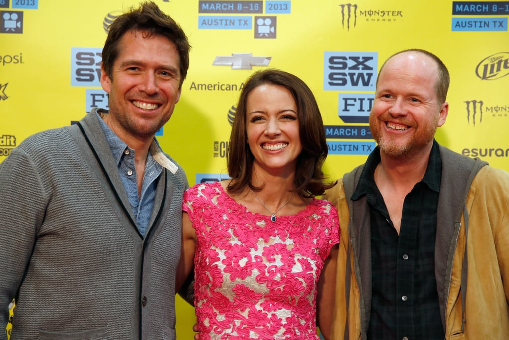 Alexis Denisof, Amy Acker, and Joss Whedon attended their Much Ado About Nothing screening at SXSW.