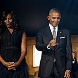 Michelle Obama Tuxedo Dress at the Kennedy Center Sept. 2016