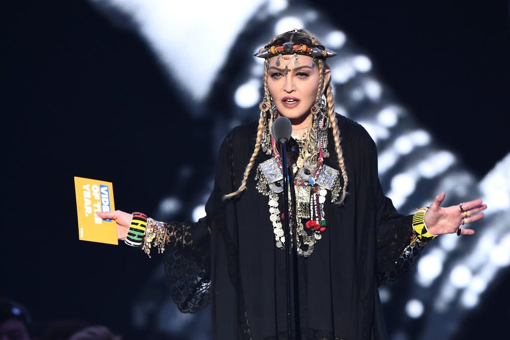 Madonna's Tribute to Aretha Franklin at the MTV VMAs 2018