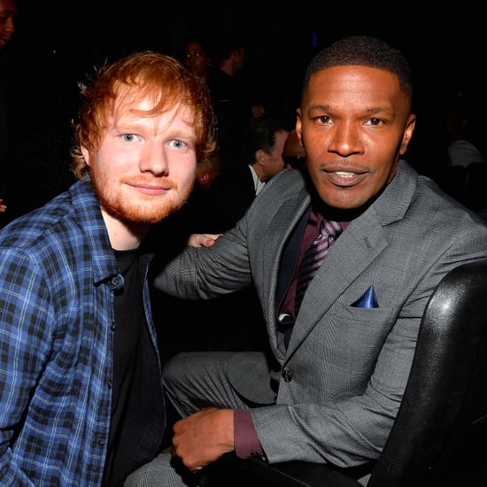Jamie Foxx Talks About Living With Ed Sheeran