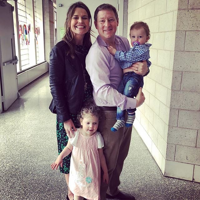 Savannah Guthrie Opens Up About Being A Mom In Her 40s Popsugar Family