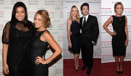 Lauren, Patrick and Jordin Go All Black For Avon
