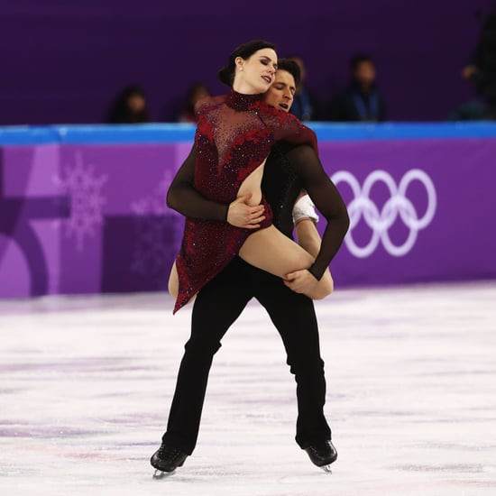 "Tessa Virtue and Scott Moir Ice Dancing to ""Moulin Rouge"""