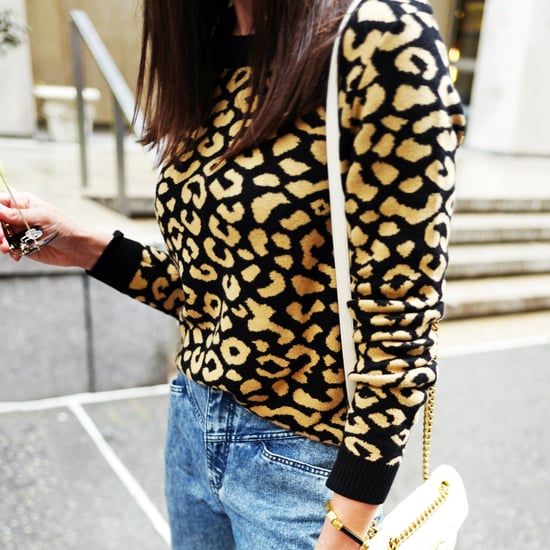 Easy Outfit Idea: Leopard Sweater