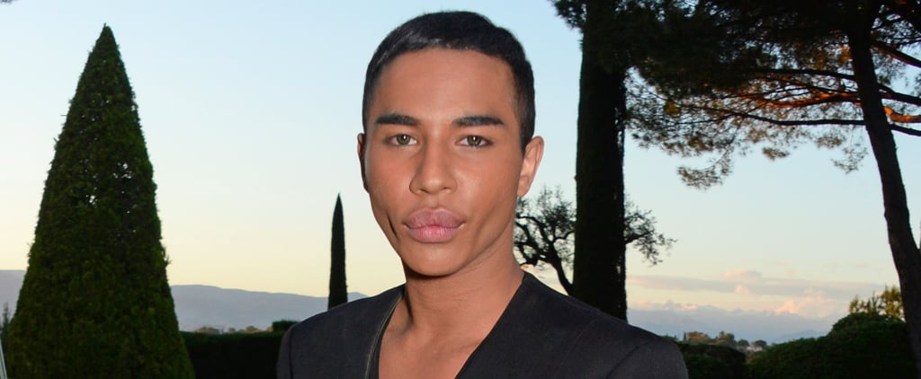 Balmain's Olivier Rousteing Is Bored by Basic, but All About Gender Bending