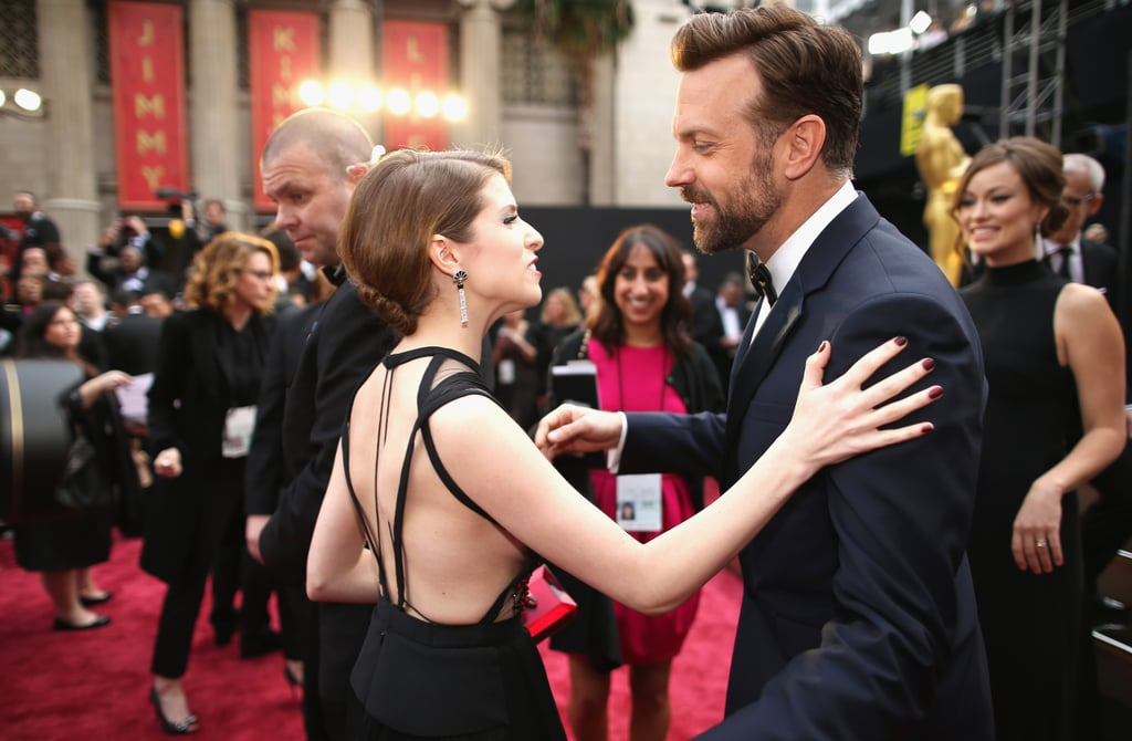 Anna Kendrick and Jason Sudeikis at the 2014 Oscars.