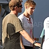 Pictures of Carey Mulligan and Ryan Gosling on the Set of Drive in LA 2010-09-30 10:30:00