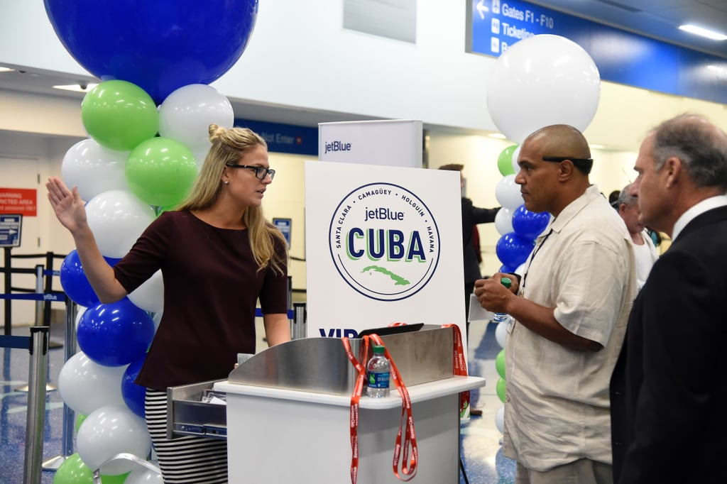 JetBlue's First Commercial Flight From US to Cuba Pictures