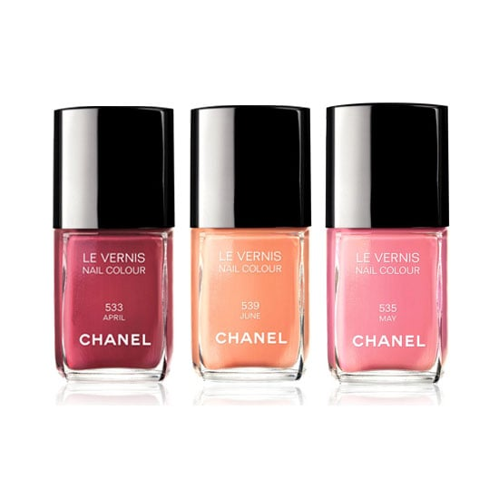 Chanel Le Vernis Spring 2012 Nail Polish Collection, $39 each
