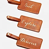 Shopbop @Home Seek Explore Discover Luggage Tag Box Set