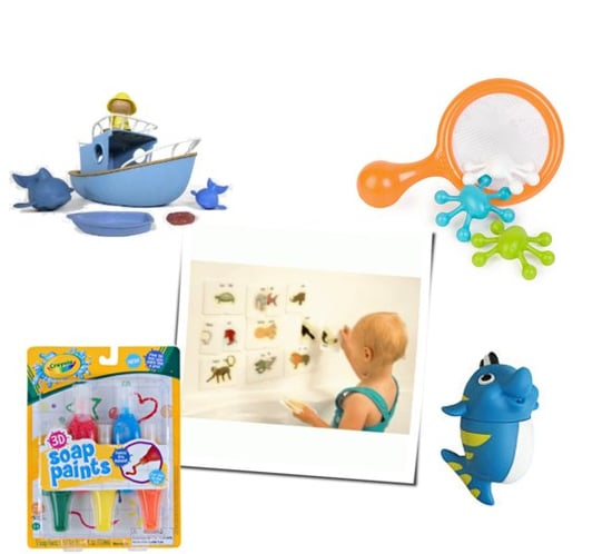Mildew-Free Bath Toys For Kids