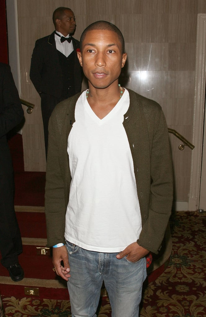 Pharrell Williams made an appearance at the Boardwalk Empire premiere afterparty.