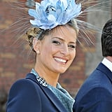 Princess Tatiana of Greece wore this explosively gorgeous blue fascinator to the christening of the Danish royal twins in 2011.