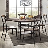 Wood and metal dining table ($223)