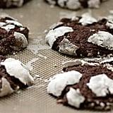 The Cutest Chocolate Crinkle Cookies
