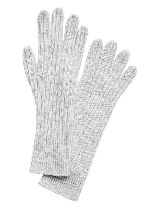 Cashmere Long Gloves