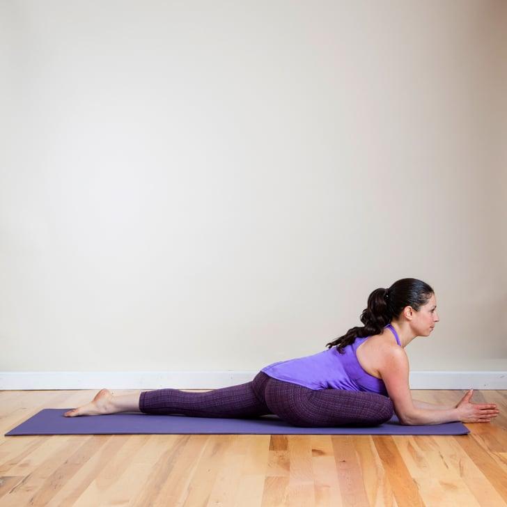 Pigeon Pose Heating Yoga Sequence Popsugar Fitness Photo 7