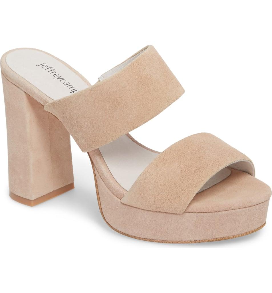 3a428d93303 Jeffrey Campbell Adriana Double Band Platform Sandals