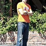 Olivier Martinez was spotted after a lunch date with Halle Berry.