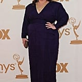 Melissa McCarthy walked the red carpet before taking home the Emmy for best actress in a comedy for her role on Mike and Molly.