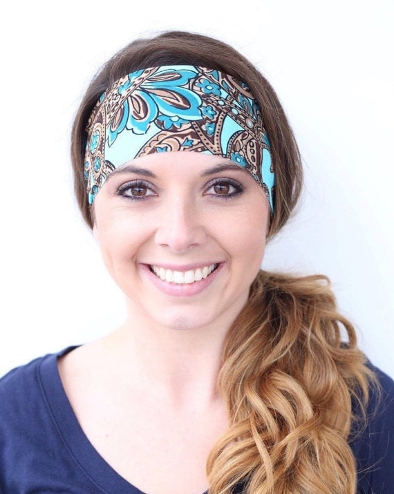 Wide Yoga Headbands