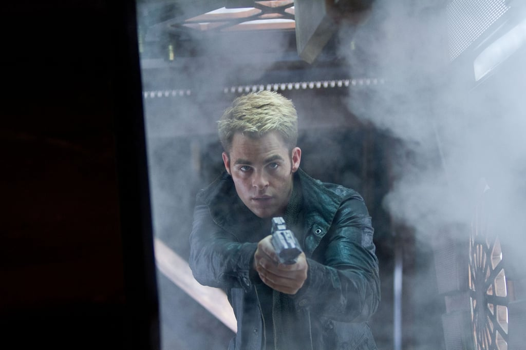 Chris Pine in Star Trek Into Darkness.