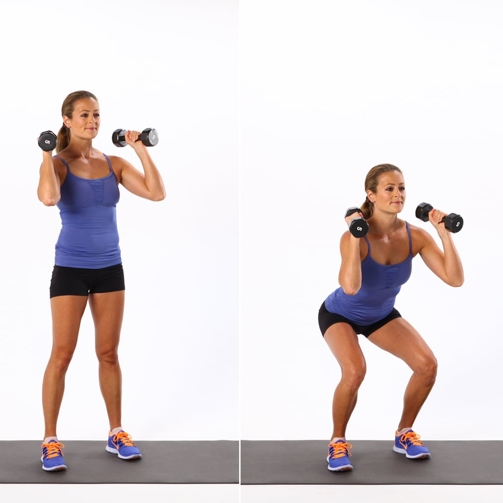 Basic Dumbbell Squat | How to Do Different Squat Variations ...