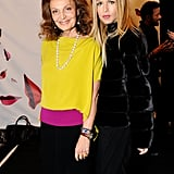 Rachel Zoe chatted up Diane von Furstenberg over the weekend.