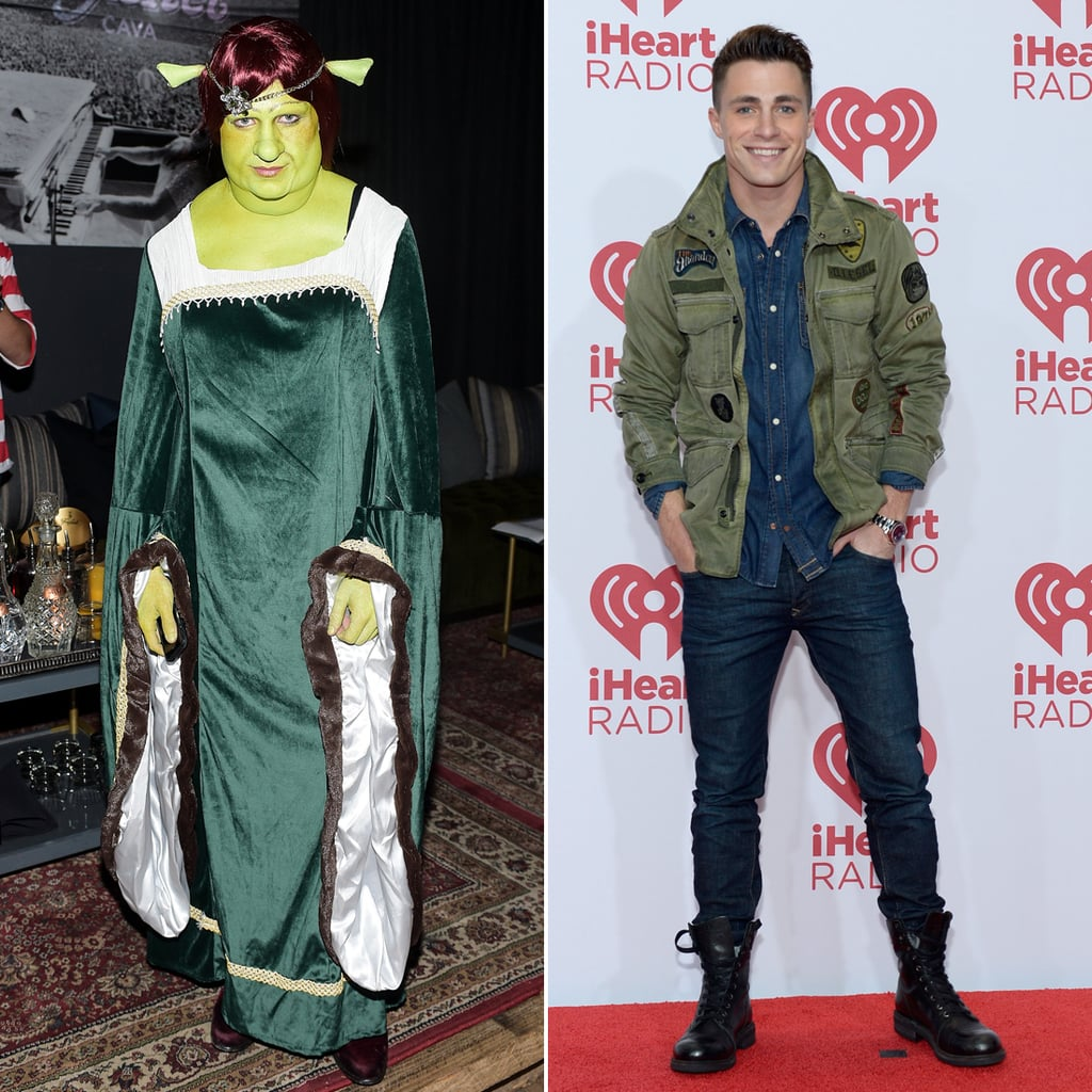 Colton Haynes Fiona From Shrek Halloween Costume  sc 1 st  Popsugar : shrek and fiona halloween costumes  - Germanpascual.Com