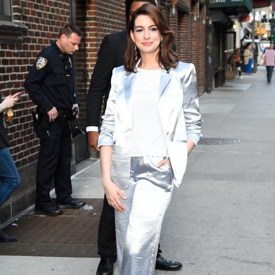 Anne Hathaway Wardrobe Malfunction 2019