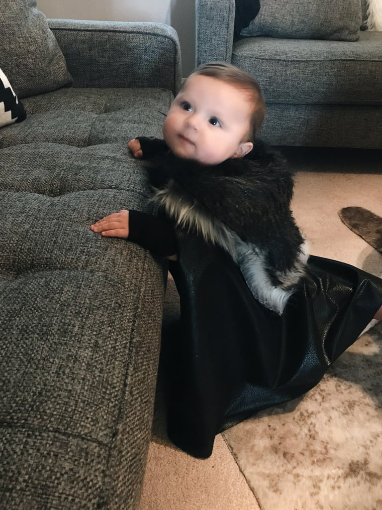 Even Ned Stark Would Be Impressed by This Jon Snow and Ghost Halloween Costume