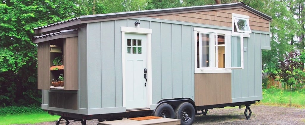 This Tiny Farmhouse on Wheels Makes 23 Square Metres Look Lavish