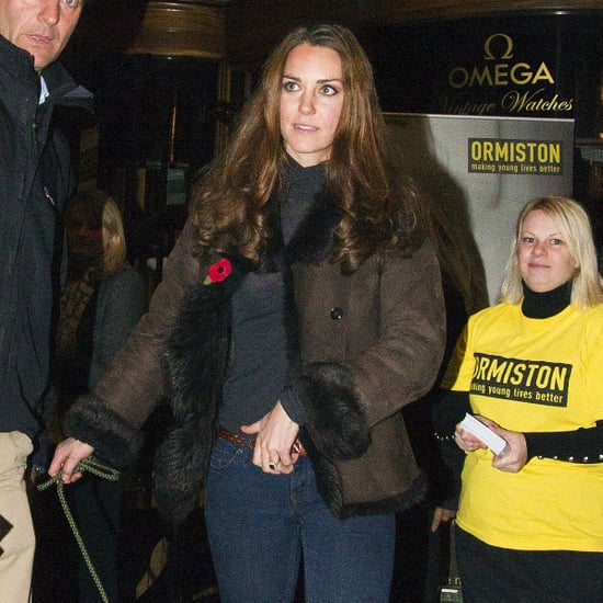 Kate Middleton With Lupo at a Charity Event