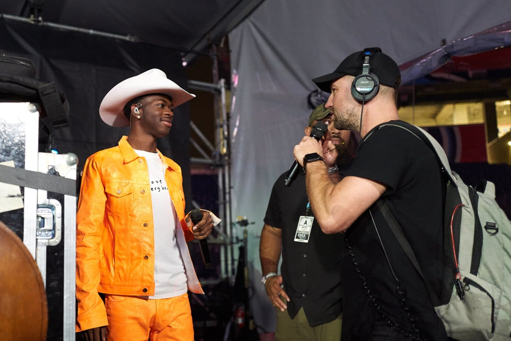 "Lil Nas X, Billy Ray Cyrus, and Keith Urban Join Forces to Sing ""Old Town Road"" at the CMA Fest"