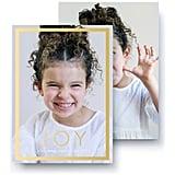 Windowpane Joy Photo Card from Pinhole Press ($2 per card)