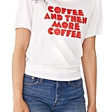 Ban.do Coffee & More Coffee Ringer Tee