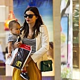 Miranda Kerr and Flynn Bloom shopped together.