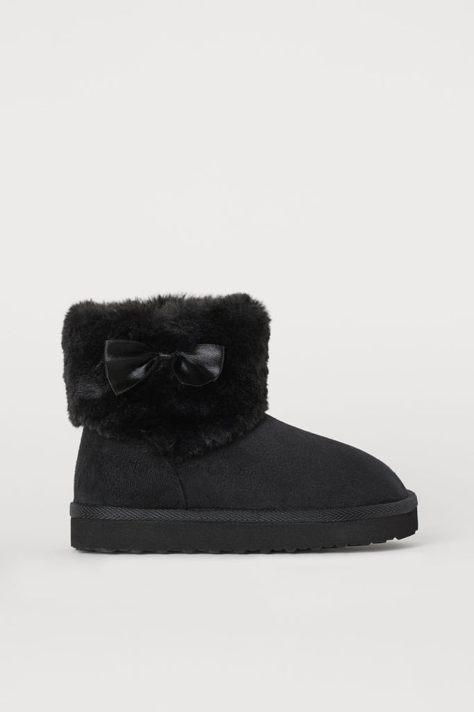 Faux Fur-Lined Boots