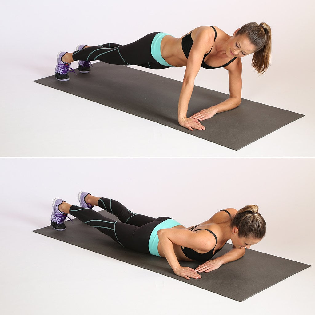 Upper Body and Core: Uneven Push-Up