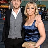 The two posed for pictures together at the LA premiere of Fracture in April 2007.