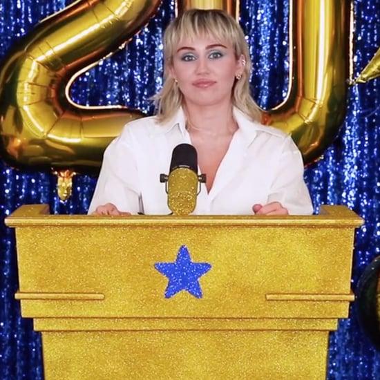 Miley Cyrus's #Graduation2020 Ceremony Performance | Video
