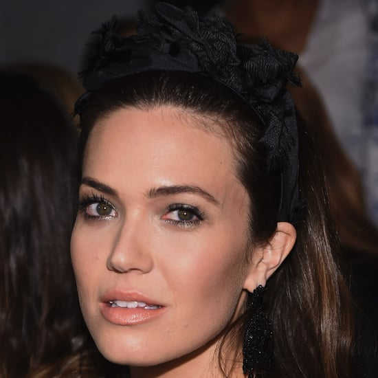 Mandy Moore's Fringed Headband at NYFW