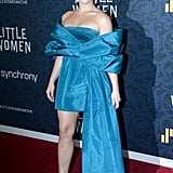Florence Pugh at the Little Women Premiere in New York