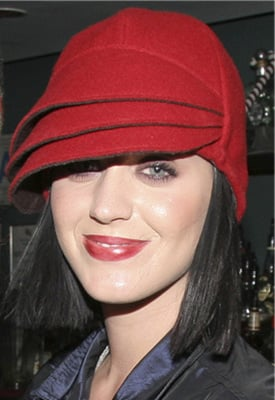 Katy Perry in Red Hat