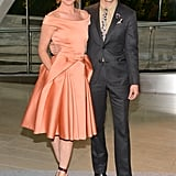 Juliette Lewis attended the CFDA Fashion Awards with designer Zac Posen.