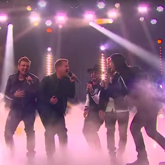 James Corden Sings With the Backstreet Boys Video